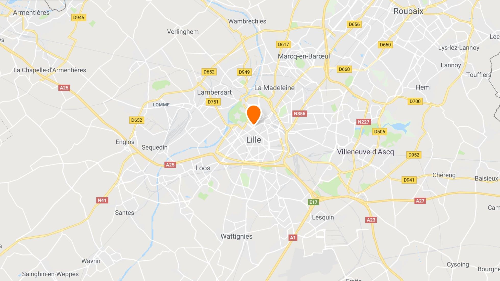 Les points de rendez-vous pour la conduite à Lille