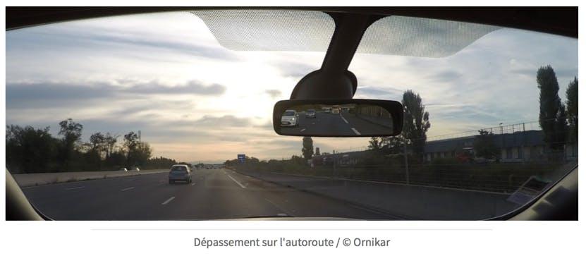 Dépassements sur l'autoroute