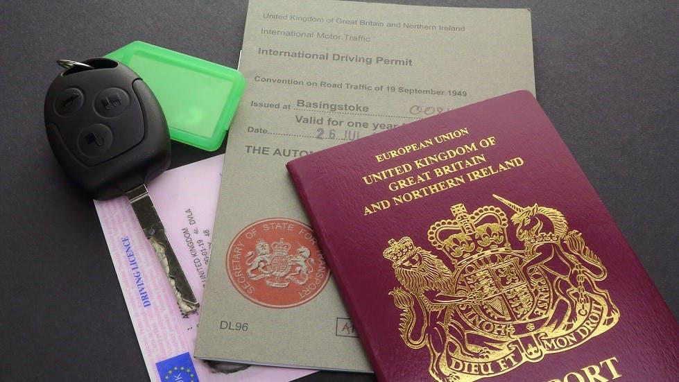 Permis de conduire international delivre au Royaume-Uni