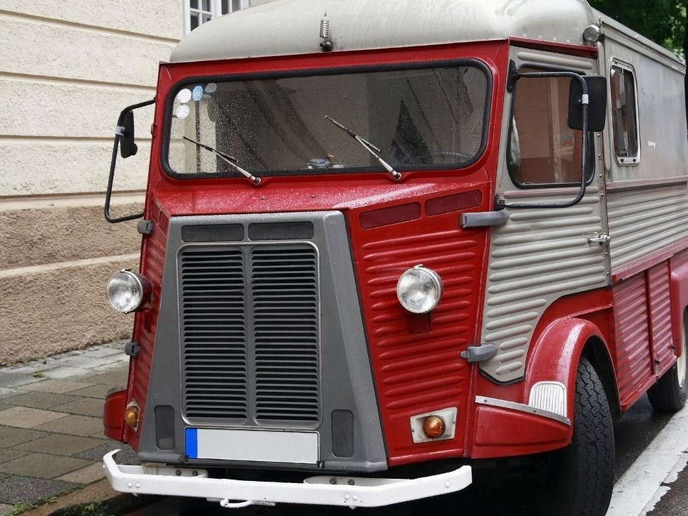 Camion considere comme un vehicule de collection