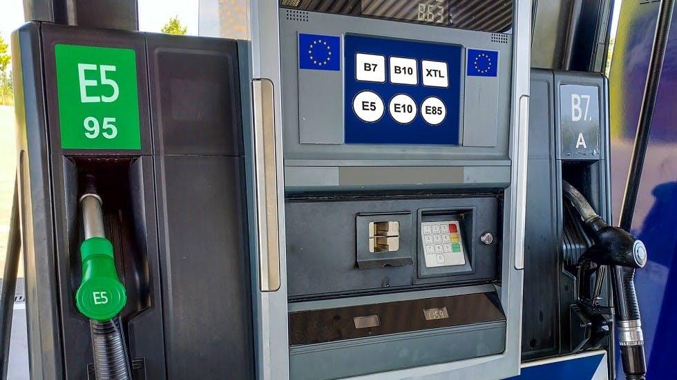 Nouveaux noms et affichages européens des carburants