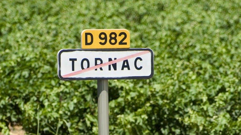 Cartouche de localisation d'une route departemantale
