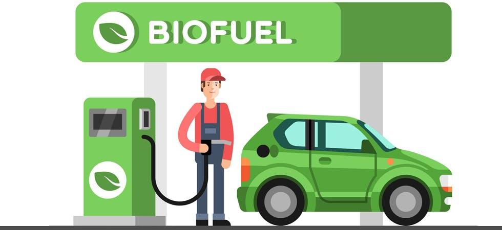 Illustration représentant du biofuel.