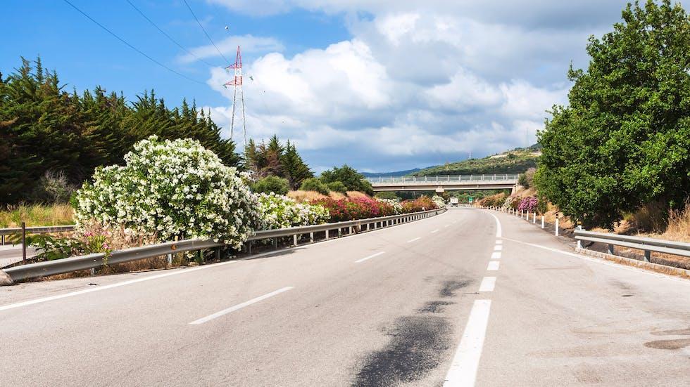 Autoroute à deux voies