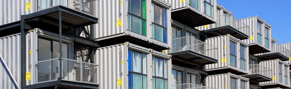 Des logements étudiants dans des conteneurs
