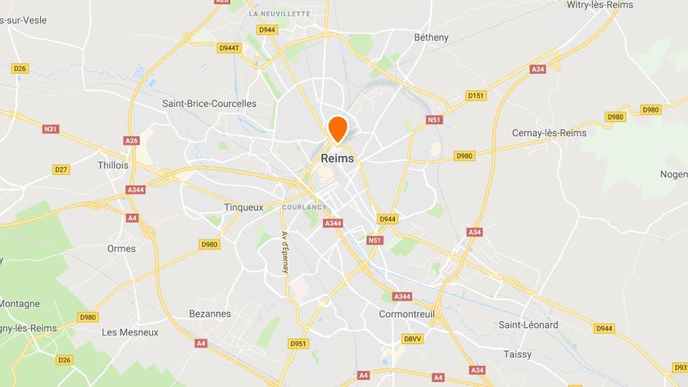 Les points de rendez-vous à conduite à Reims