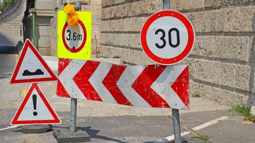 Limitation temporaire de hauteur des vehicules