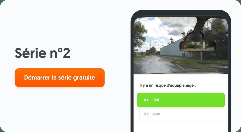 Quiz de code de la route : serie 2
