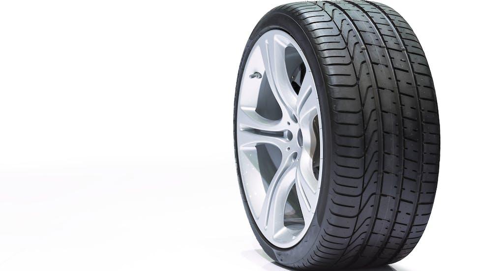 Image d'un pneu à structure radiale