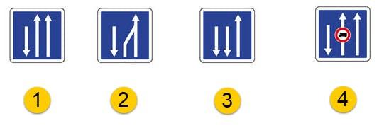 Rétrécissement de voies