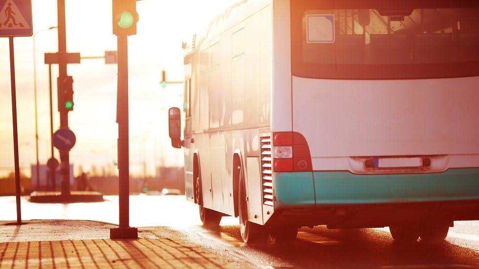 Transport en commun circulant en agglomeration