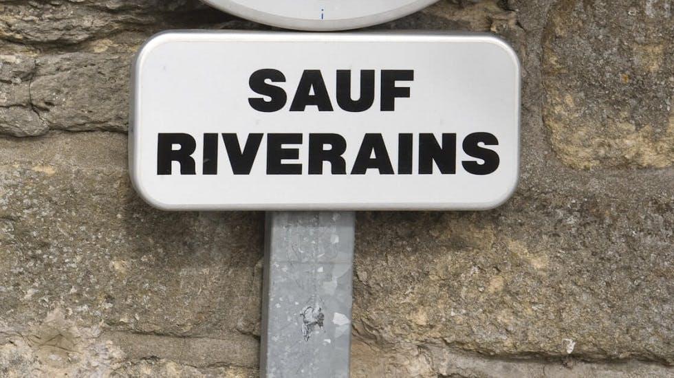 Panneau D Interdiction De Stationner Sauf Riverains Ornikar