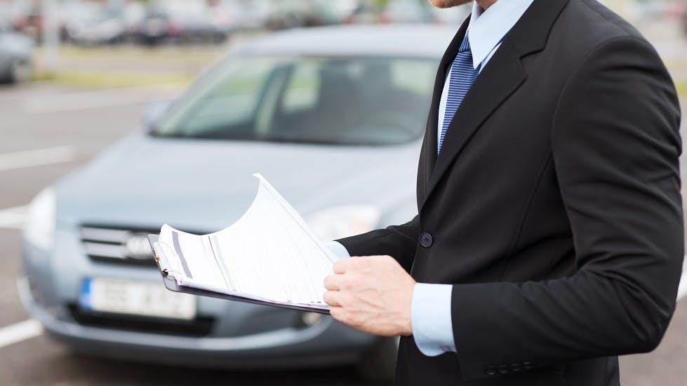 Expertise d'une automobile suite a un accident de la route