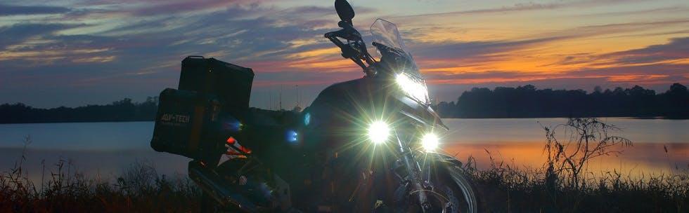 Phares de moto
