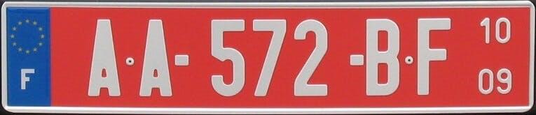 BEDKKJY Drapeau de lIle Maurice Plaque dimmatriculation d/écorative Plaque dimmatriculation Avant de Voiture /étiquette de vanit/é Plaque de Voiture en m/étal,6 X 12 Pouces