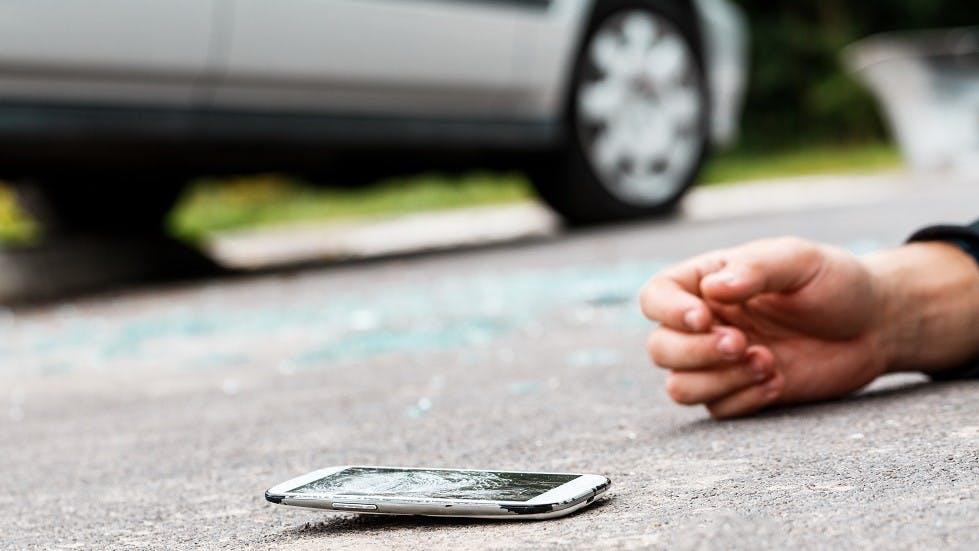 Pieton renverse par une automobile