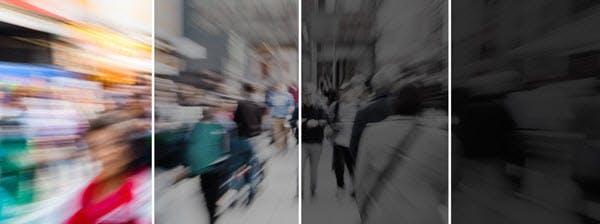 Reconstitution des effets de l'alcool sur la vision