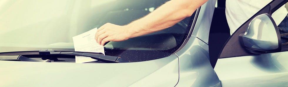 amende suite à une infraction de stationnement