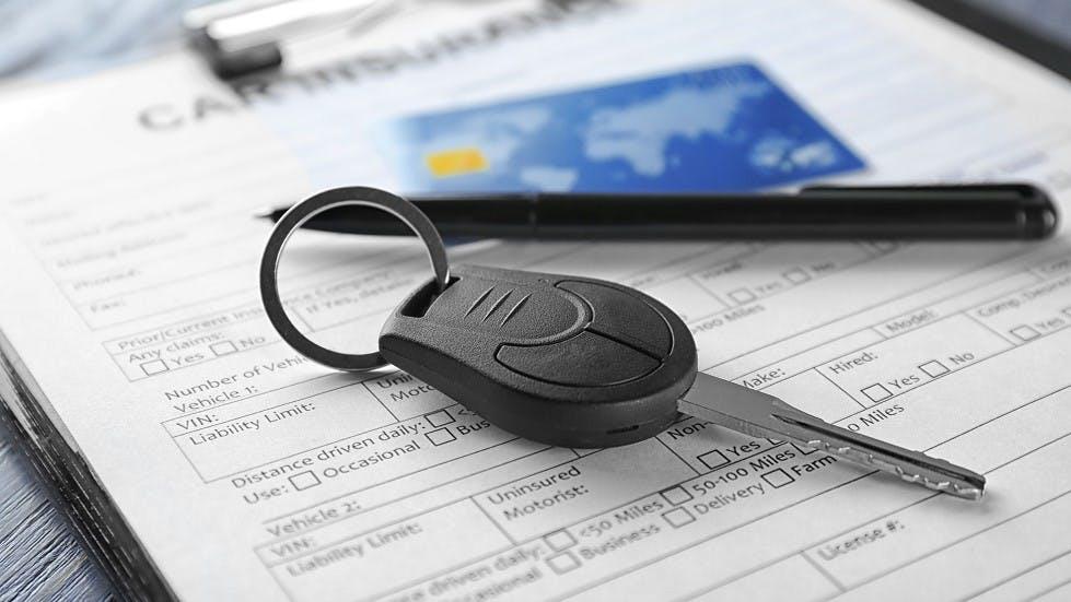 Formulaire pour souscrire a une assurance auto
