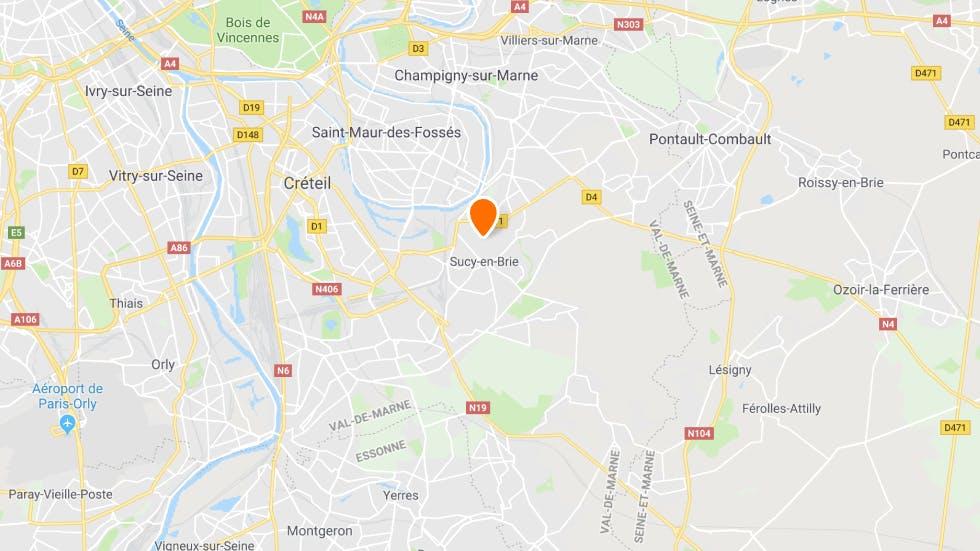 Points de rendez-vous de l'auto-ecole en ligne Ornikar a Sucy-en-Brie