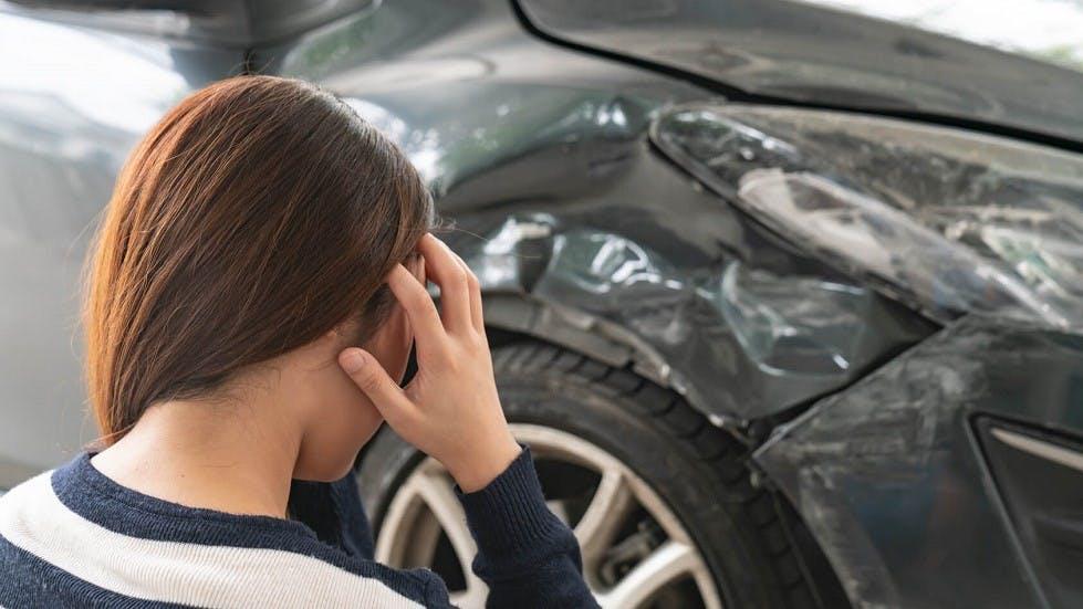 Carrosserie cabossee accident de la route