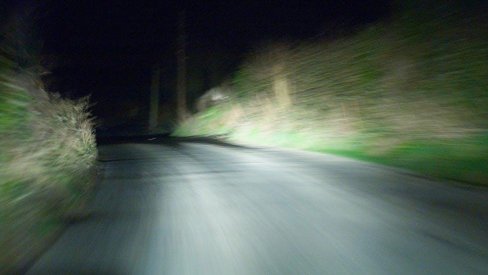 Conduire un vehicule de nuit