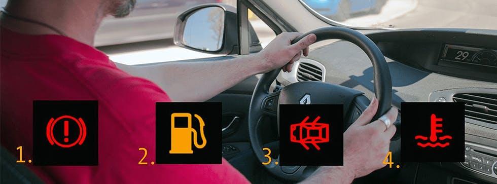 Test voyant des voitures