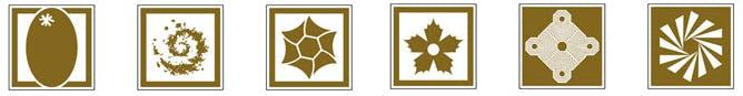 Idéogramme de parcs régionaux ou d'attractions touristiques
