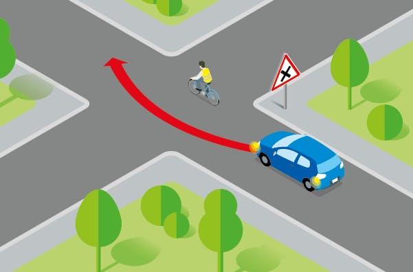 interdiction de dépassement dans les intersections