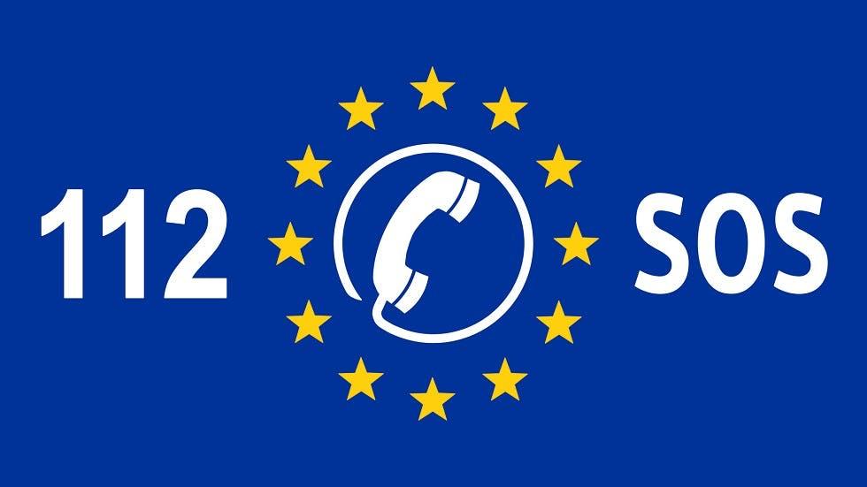Numéro d'appel d'urgence Europeen