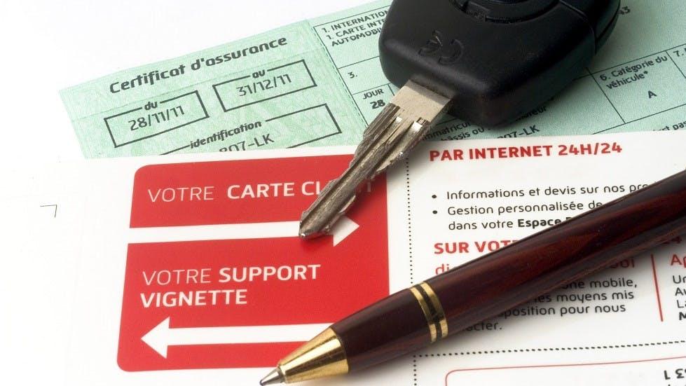 Certificat et autres documents d'assurance