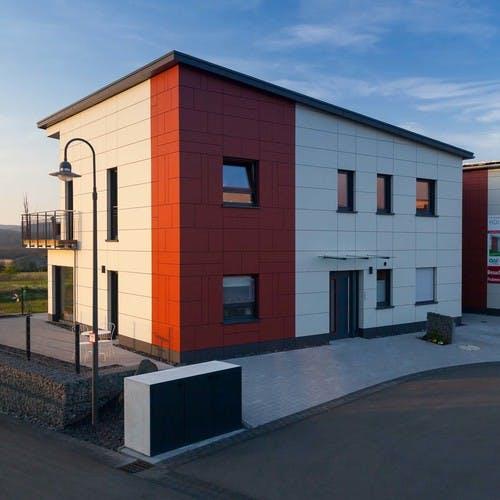 Holzrahmenbau-Musterhaus in Ürzig