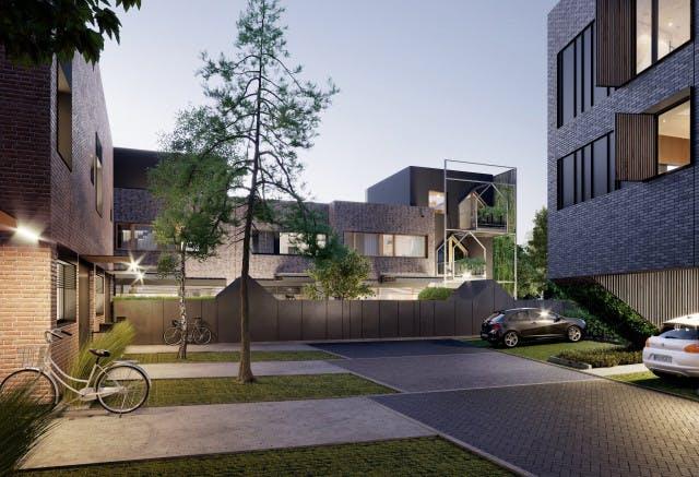 Nowy Strzeszyn – synergia połączeń i sztuka budowania pomiędzy drzewami