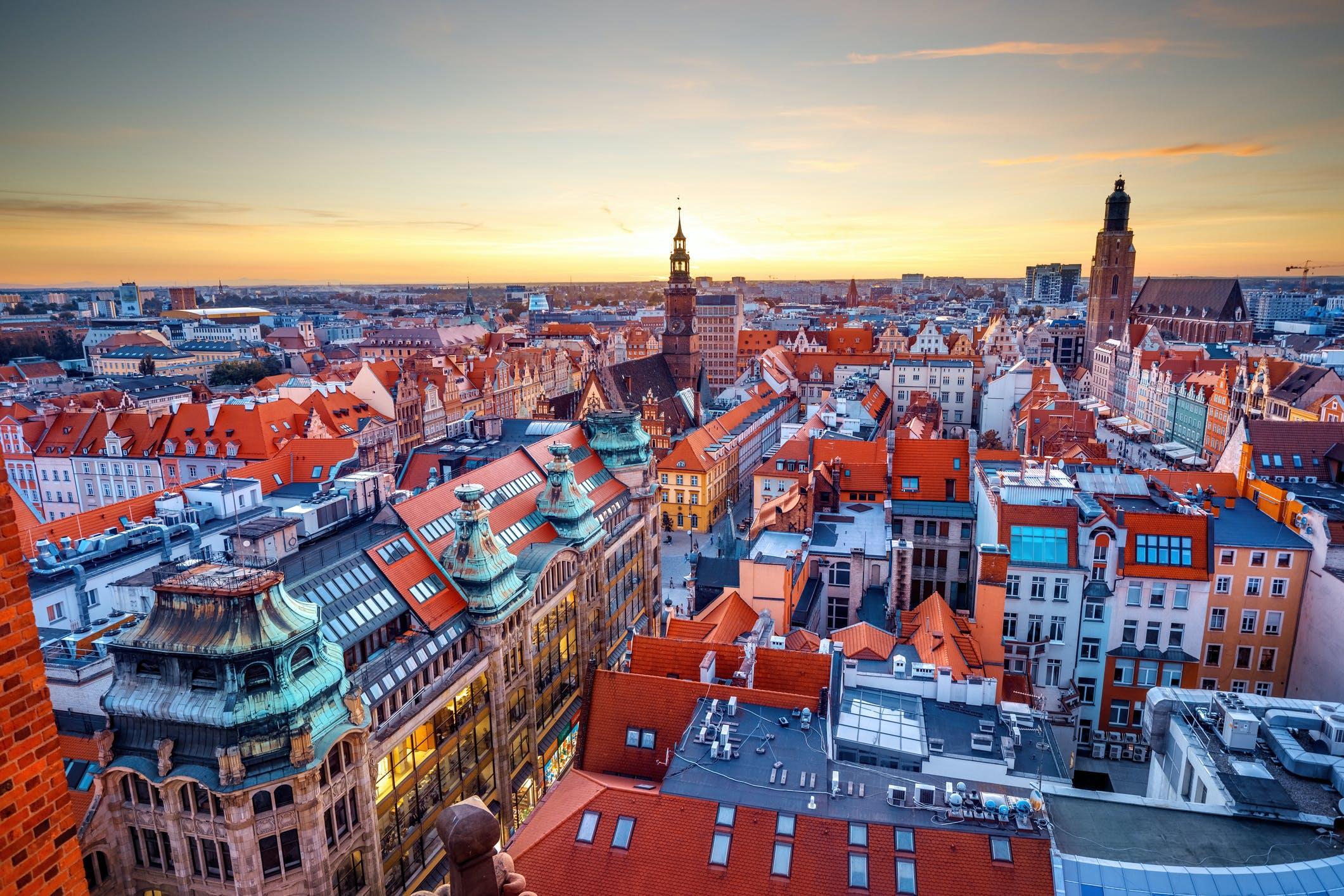 Dane Otodom 2021: Wrocław woli domy