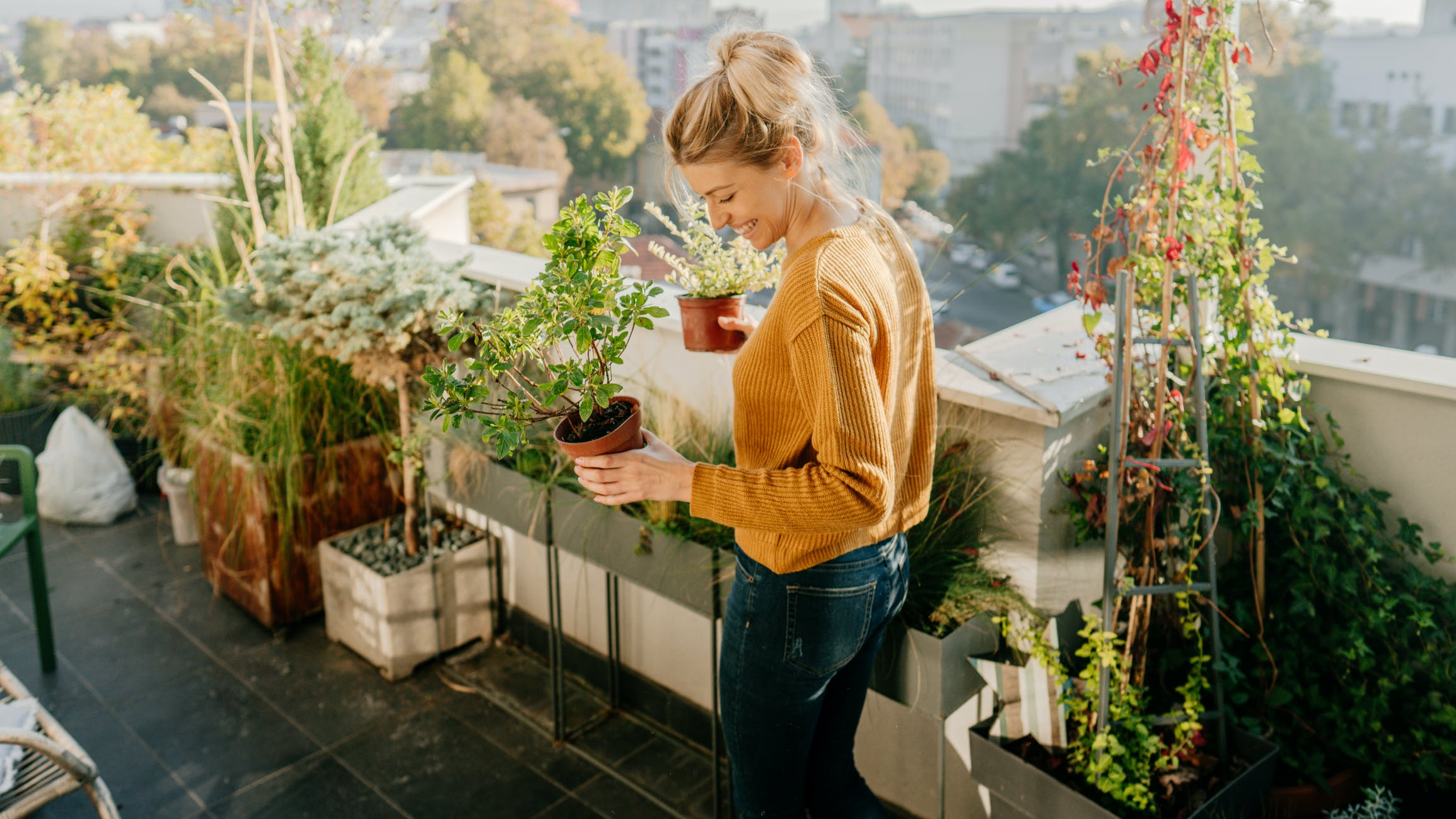 Balkony, tarasy i ogrody na wagę złota - raport Domondo