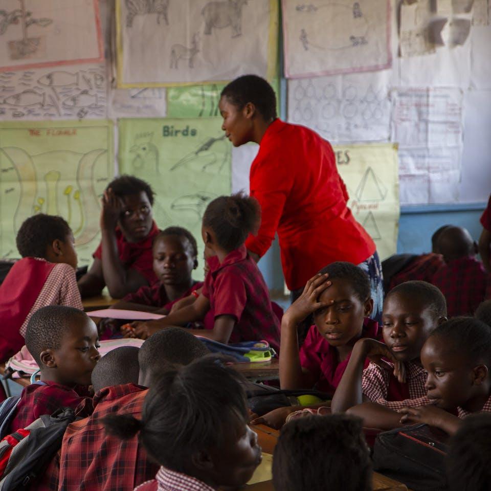 Widening opportunities for teacher professional development in Zambia using low-cost tech