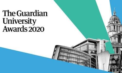 Guardian University Awards 2020 logo