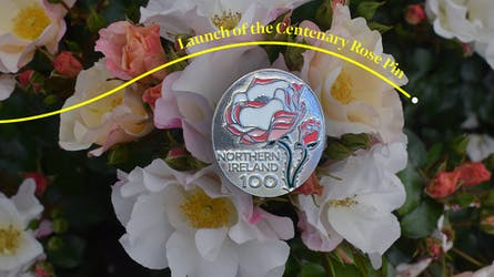 Launch of the new Centenary Rose Pin