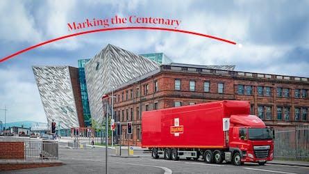 NI Centenary Postmark Launch