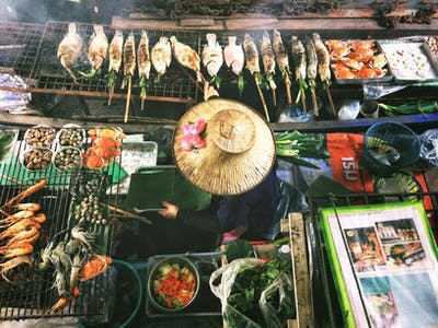 Thailand street food, Lisheng Chang for Unsplash