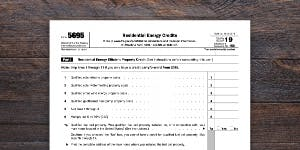 Tax Form 5695 for Residential Energy Credits