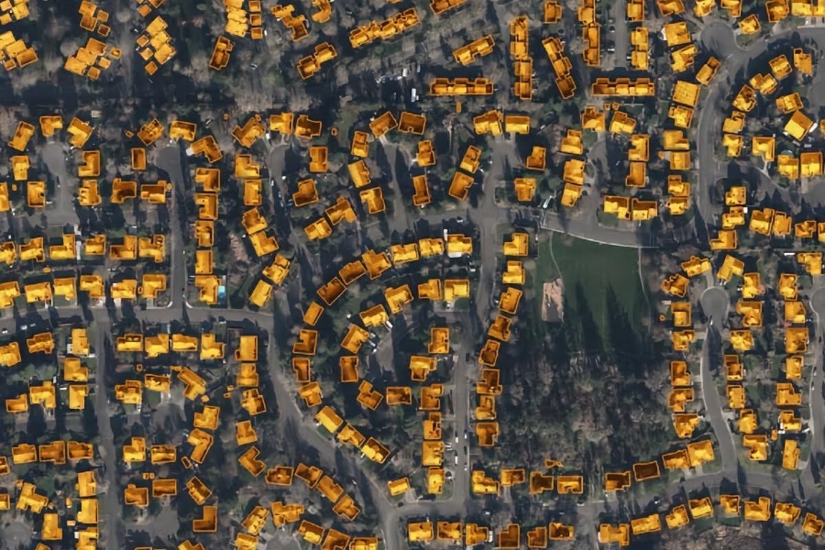 """Answering the question, """"How Many Solar Panels Do I Need?"""" with an overview map of a city's solar power generation potential."""