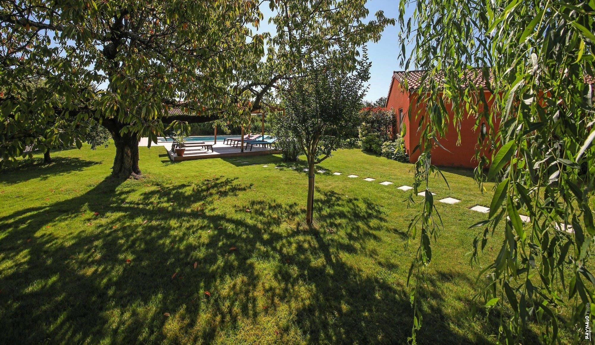 Chambres d'hôtes Au Paradis Vert dans le Tarn à Laboutarié