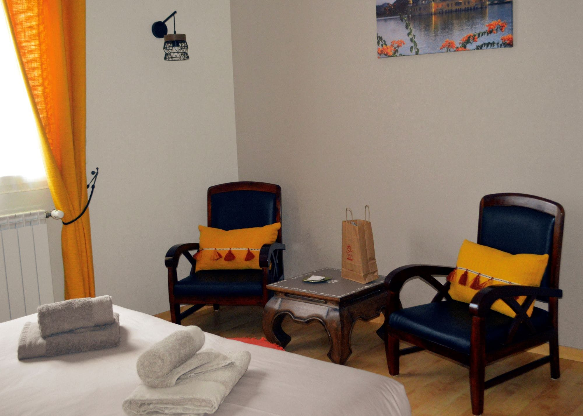 Salon de la chambre Inspiration Indienne