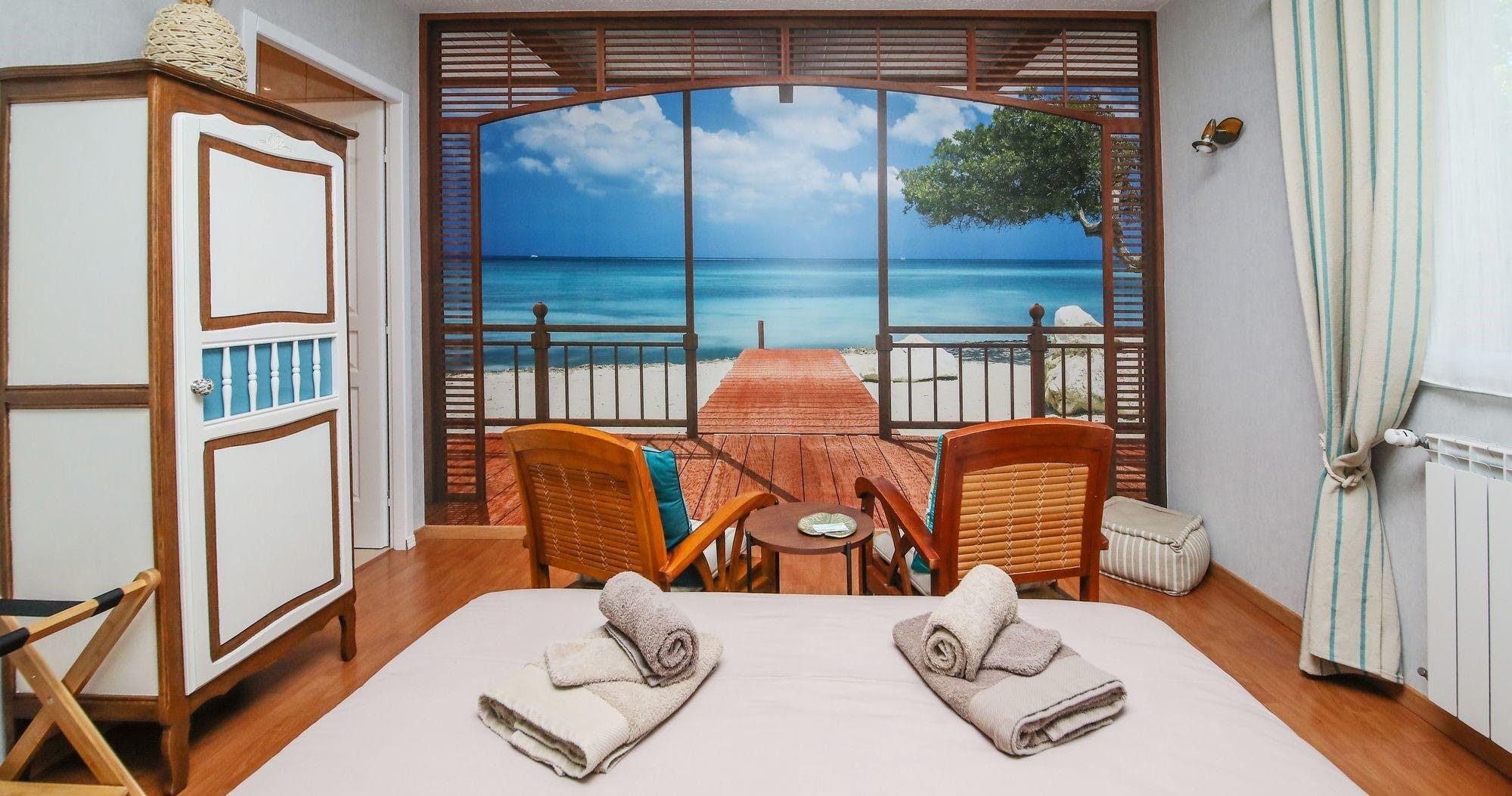 Chambre pour 2 personnes sur le thème de Bali