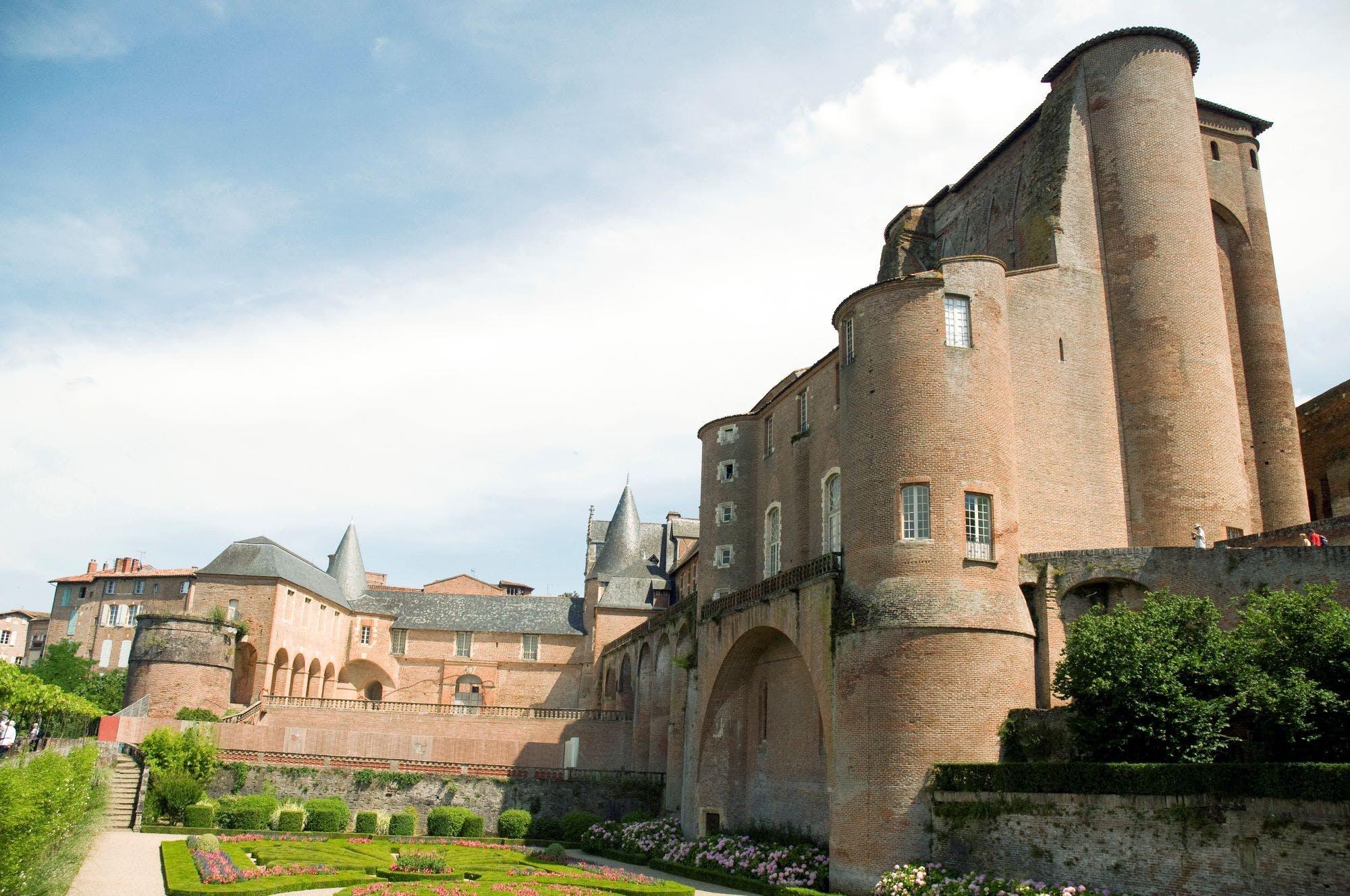 Vue de la Cité Episcopale d'Albi