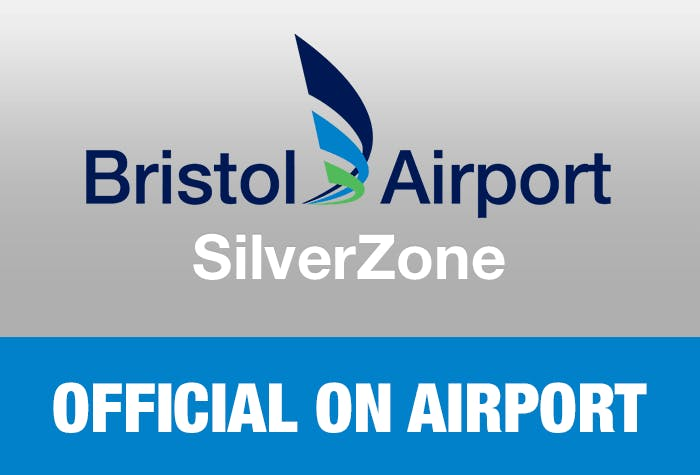 Bristom Airport SilverZone - Official On Airport Logo