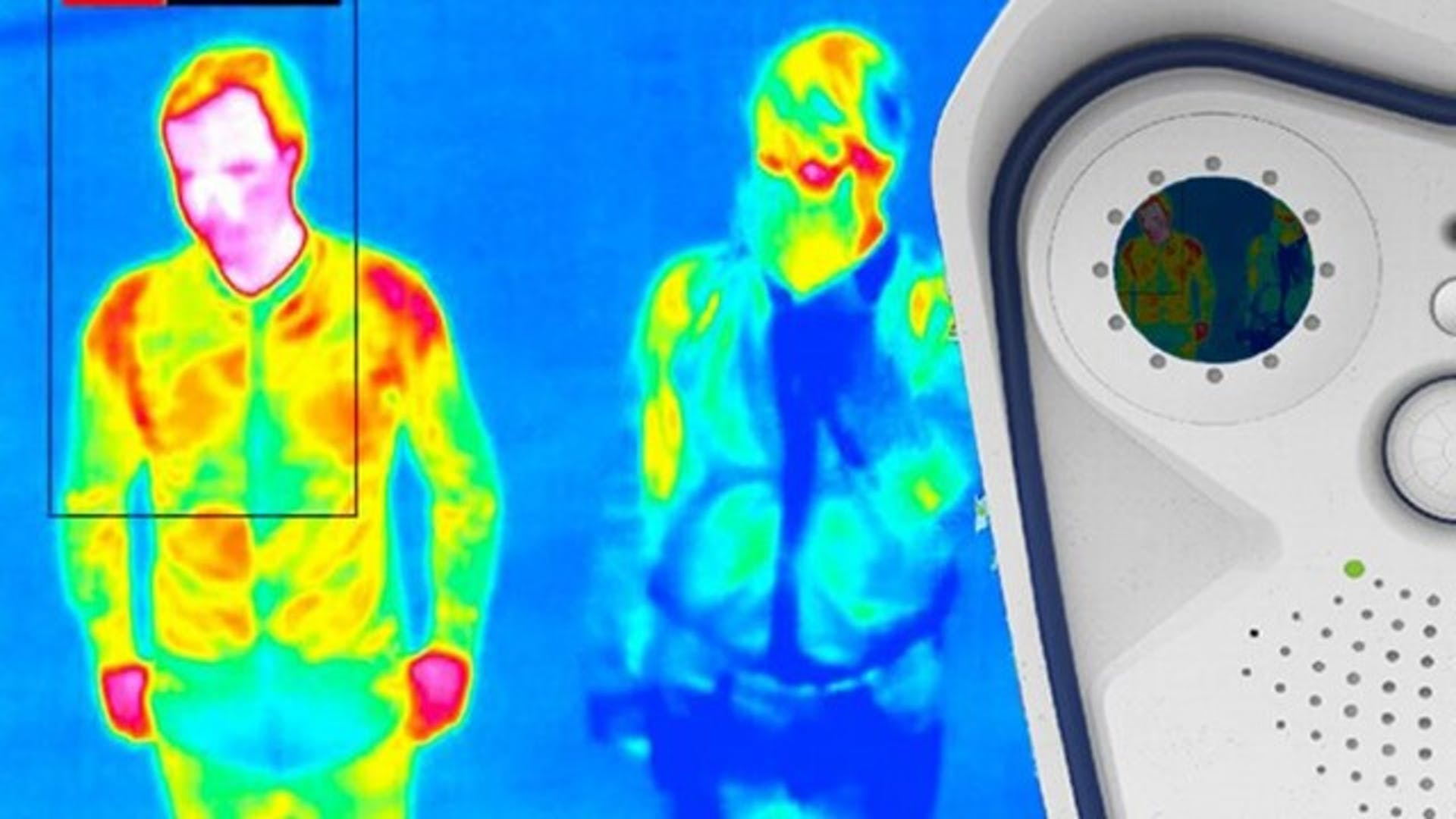 Thermal scan of passengers