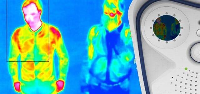 Heat scanning people