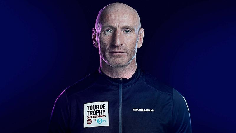 BBC Sports relief • Tour De Trophy, Gareth Thomas - Sam Riley
